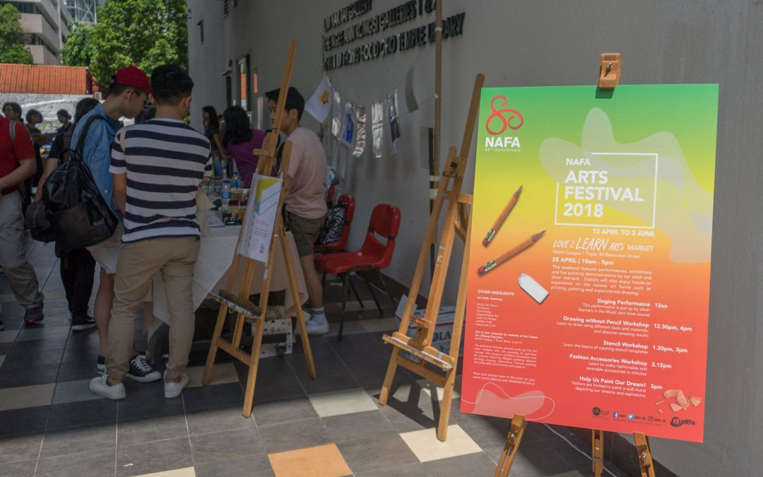 Lionsforge at the NAFA Arts Festival 2018