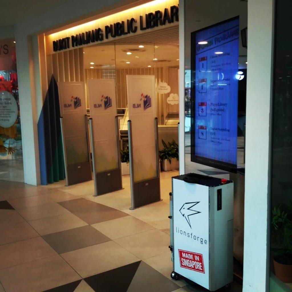 CraftLaser demo at the Bukit Panjang Public Library.