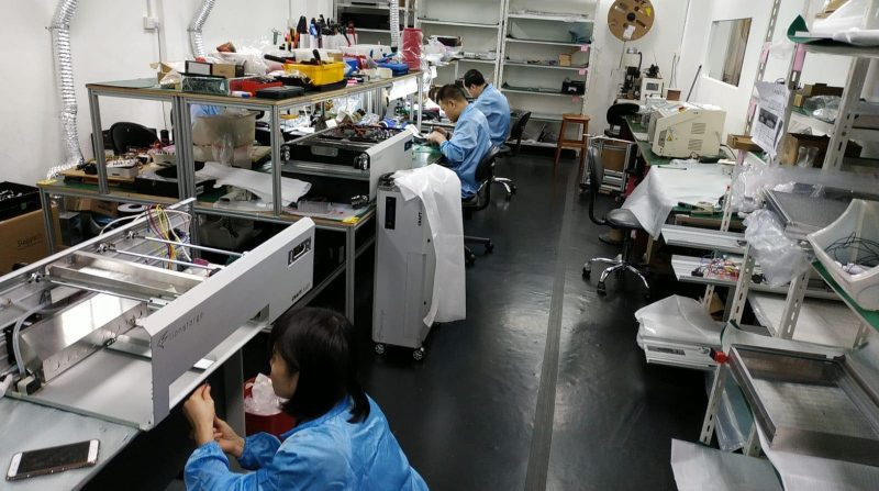 CraftLaser goes into pilot production.