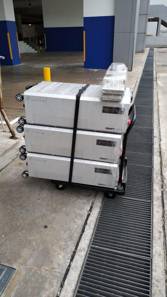 CraftLaser local delivery goes into full swing