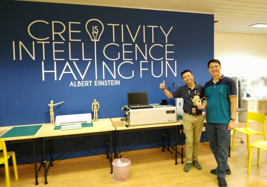 CraftLaser delivered to Bowen Secondary School.