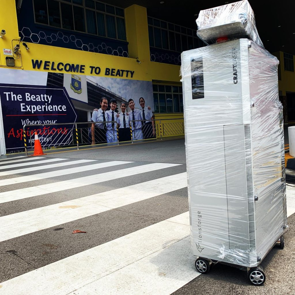 CraftLaser delivered to Beatty Secondary School.