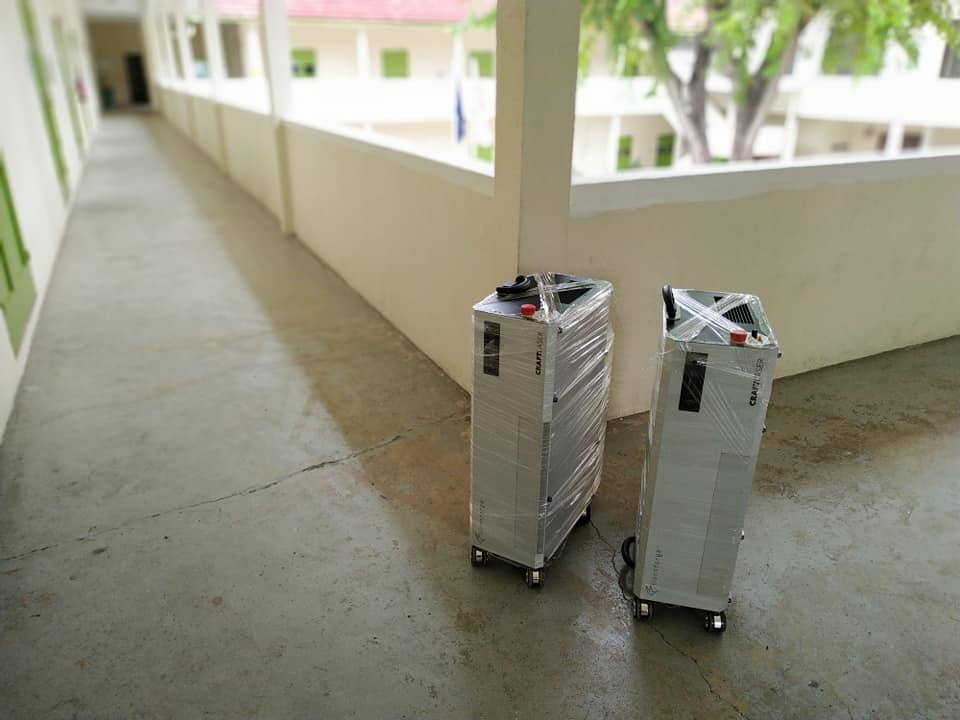 CraftLaser delivered to Girl's Brigade Headquarters in Singapore.