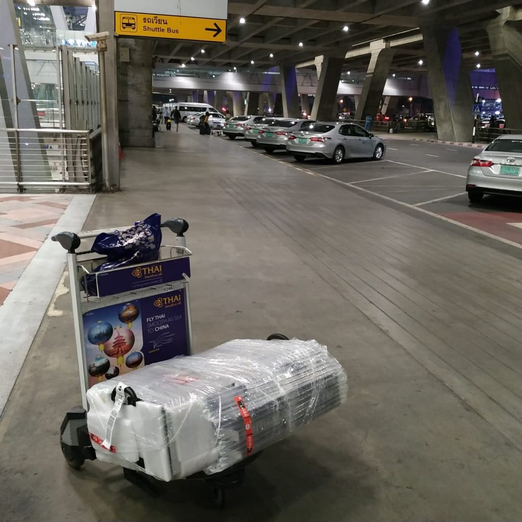 CraftLaser goes to Bangkok for the Open Tech Summit.