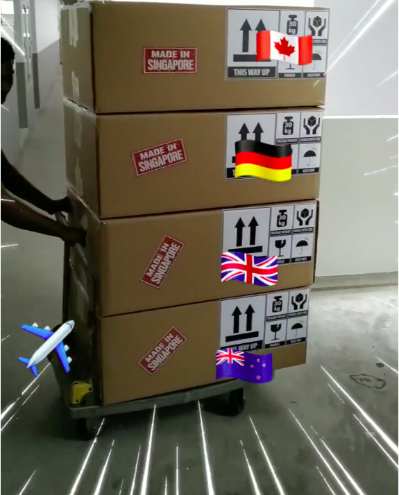 More CraftLaser delivered to our overseas supporters.