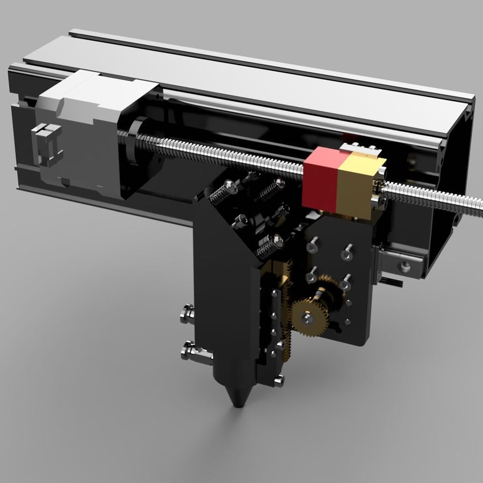 The CraftLaser Rigid Drive System