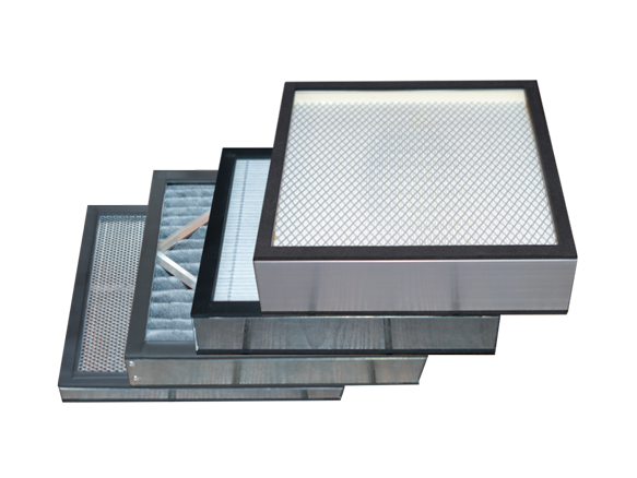 Filters in the External Filtration Unit