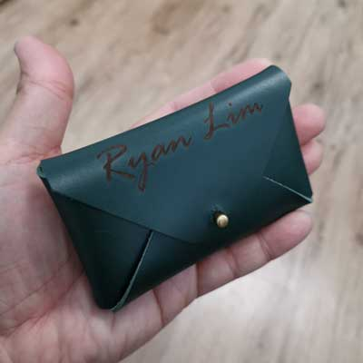 Craftlaser can do leather engraving
