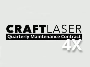 CraftLaser Quarterly Maintenance Contract