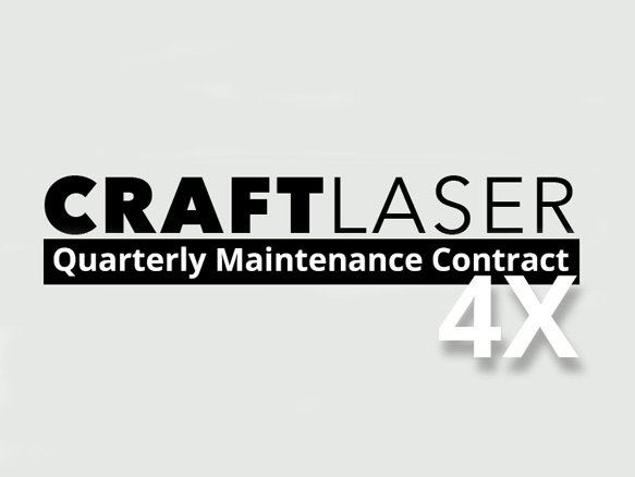 CraftLaser Quarterly Maintenance Contract