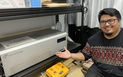 Tinkermind Singapore and the CraftLaser