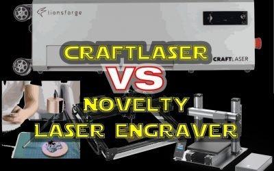 The CraftLaser vs Online Novelty Laser Cutters / Engravers